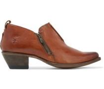 Sacha Moto leather boots