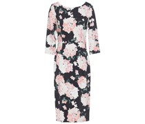 Floral-print Cady Midi Dress