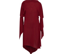 Asymmetric Draped Cady Dress