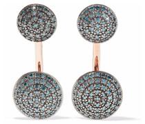 Stellar -plated Diamond Earrings