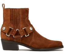 Mina Suede Ankle Boots