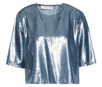Cropped Tinsel Top