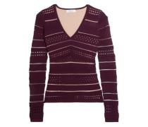Niki open-knit sweater