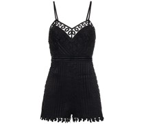 Kaido Crocheted Lace Playsuit