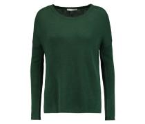 Open-knit Cashmere Sweater Grün