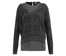 Sequined Cashmere-blend Sweater Schiefer