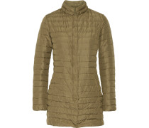 Elare Quilted Shell Down Coat Champignon