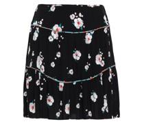 Bia Floral-print Crepe Mini Skirt