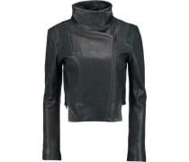 Connix leather biker jacket