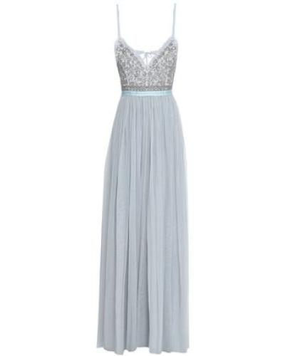 Midi Dress Sky Blue Size 16