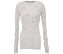 Donegal Ribbed Cashmere Sweater