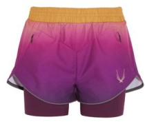 Rebel ombré shell and stretch-jersey shorts