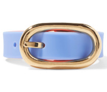 Buckle Up Rubber Bracelet Blau