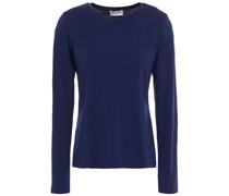 Cecile Stretch-tencel And Cotton-blend Jersey Top