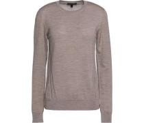 Somerby paneled wool sweater
