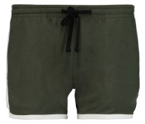 Jersey Shorts Armeegrün