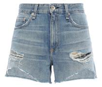 Dre Distressed Denim Shorts