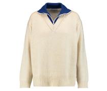 Selby Wool-blend Sweater Ecru