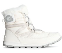 Whitney Faux Fur-trimmed Shell Snow Boots
