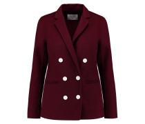 Vania Wool-blend Jacket Burgunder