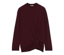 Pullover aus Wolle mit Twist-detail An Der Vorderseite