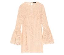 Carter Corded Lace Mini Dress Neutral