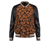 Wild Beast cloqué and leather jacket