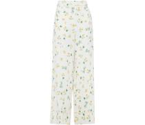 Desert Floral-print Crepe Wide-leg Pants