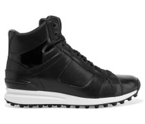 Trance Leather High-top Sneakers Schwarz