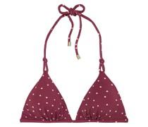 Lola Triangel-bikini-oberteil mit Polka-dots