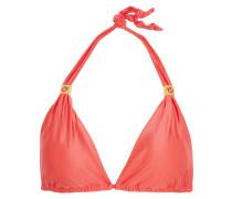 Bia Halterneck Bikini Top Papaya