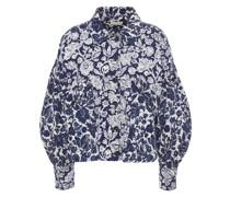 Griffin Floral-print Denim Jacket
