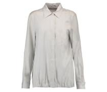 Virna pinstriped silk shirt