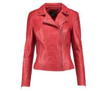 Leather Biker Jacket Rot