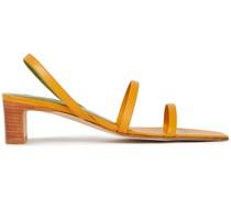 Renata Slingback-sandalen aus Leder