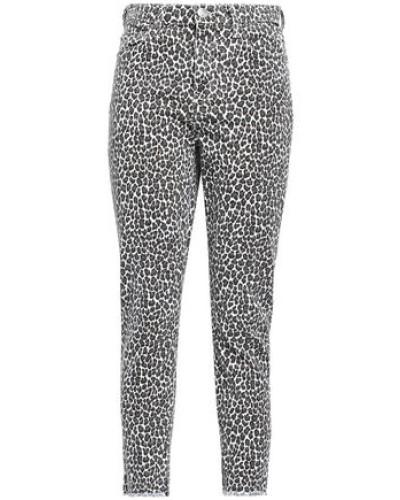 Leopard-print High-rise Skinny Jeans Animal Print  4