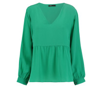 Washed-silk Blouse Jade