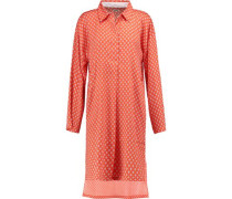 Striped georgette nightshirt