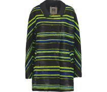 Eldridge Bouclé-tweed Coat Schwarz