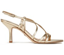 Paislee Metallic Leather Sandals