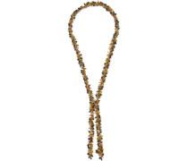 Woman Corvara Gold-tone Quartz Necklace Multicolor