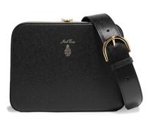 Juliana Textured-leather Shoulder Bag