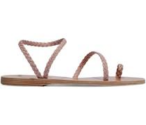 Eleftheria Sandalen aus Geflochtenem Leder