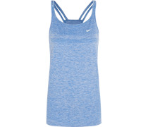 Dri-fit Knit Stretch-jersey Tank Blau