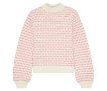 Holly Wool-blend Jacquard Sweater