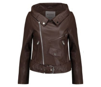 Vanessa leather biker jacket