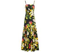 Cordelia Floral-print Cotton-poplin Maxi Dress
