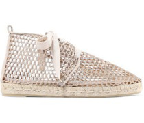 Kaili metallic canvas espadrilles