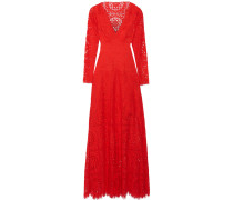 Nomi Cutout Lace Gown Rot