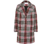 Checked Wool-blend Tweed Coat Mehrfarbig